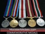 FULL SIZE COMMEMORATIVE MEDALS